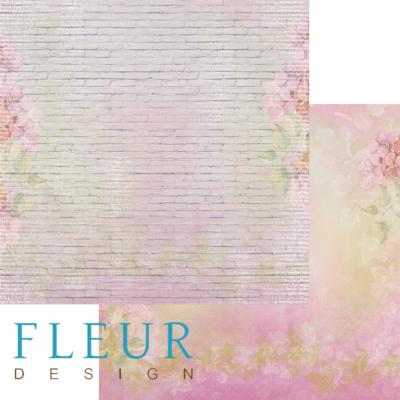 """Лист бумаги """"Кирпичная стена"""", коллекция """"Мой сад"""" (Fleur design), 30х30 см"""