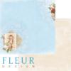 """Лист бумаги """"Изысканность"""", коллекция """"Веление сердца"""" (Fleur design), 30х30 см"""