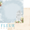 """Лист бумаги """"Дыхание весны"""", коллекция """"Веление сердца"""" (Fleur design), 30х30 см"""