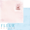 """Лист бумаги """"Таинство"""", коллекция """"Веление сердца"""" (Fleur design), 30х30 см"""