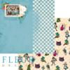 """Лист бумаги """"Игра"""", коллекция """"В стране чудес"""" (Fleur design), 30х30 см"""