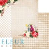 """Лист бумаги """"Невозможное возможно"""", коллекция """"В стране чудес"""" (Fleur design), 30х30 см"""