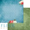 """Лист бумаги """"Приключения"""", коллекция """"В стране чудес"""" (Fleur design), 30х30 см"""