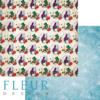 """Лист бумаги """"Шляпник"""", коллекция """"В стране чудес"""" (Fleur design), 30х30 см"""