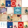 """Лист бумаги """"Карточки"""", коллекция """"В стране чудес"""" (Fleur design), 30х30 см"""