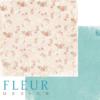 """Лист бумаги для скрапбукинга """"Садовые цветы"""", коллекция """"Забытое лето"""" (Fleur design), 30х30 см"""