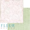 """Лист бумаги для скрапбукинга """"Рассвет"""", коллекция """"Забытое лето"""" (Fleur design), 30х30 см"""