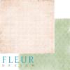 """Лист бумаги для скрапбукинга """"Бескрайние просторы"""", коллекция """"Забытое лето"""" (Fleur design), 30х30 см"""