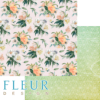"""Лист бумаги """"Нежный букет"""", коллекция """"Каникулы"""" (Fleur design), 30х30 см"""