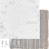 """Лист бумаги """"Поверь в чудо"""", коллекция """"Зима винтажная"""" (Fleur design), 30х30 см"""