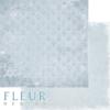 "Лист бумаги ""Морозное утро"", коллекция ""Зима винтажная"" (Fleur design), 30х30 см"