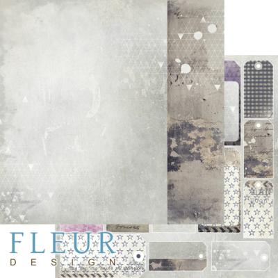 """Лист бумаги """"Серега"""", коллекция """"Ты мой космос"""" (Fleur design), 30х30 см"""