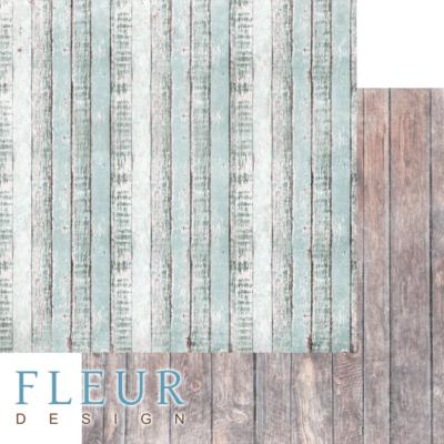 """Лист бумаги """"Дачный забор"""", коллекция """"Backstage"""" (Fleur design), 30х30 см"""