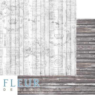 """Лист бумаги """"Хижина"""", коллекция """"Backstage"""" (Fleur design), 30х30 см"""