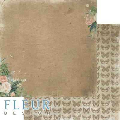 """Лист бумаги """"Мой букет"""", коллекция """"Дары полей"""" (Fleur design), 30х30 см"""