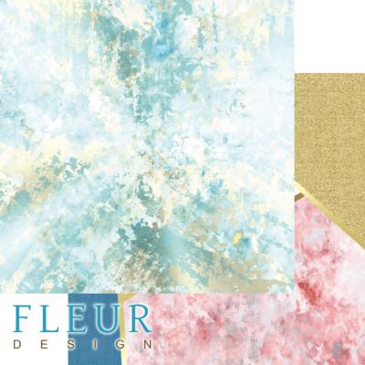 "Лист бумаги ""Геометрия"", коллекция ""Твори"" (Fleur design), 30х30 см"