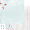 """Лист бумаги """"На крылечке летом"""", коллекция """"Зефир"""" (Fleur design), 30х30 см"""