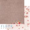 """Лист бумаги """"Цветочный аромат"""", коллекция """"Зефир"""" (Fleur design), 30х30 см"""