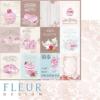 """Лист бумаги """"Карточки"""", коллекция """"Зефир"""" (Fleur design), 30х30 см"""