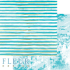 "Лист бумаги ""Жизнь в цветах"", коллекция ""Pretty tiffany"" (Fleur design), 30х30 см"