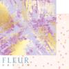"""Лист бумаги """"Фиолетовое буйство"""", коллекция """"Pretty violet"""" (Fleur design), 30х30 см"""