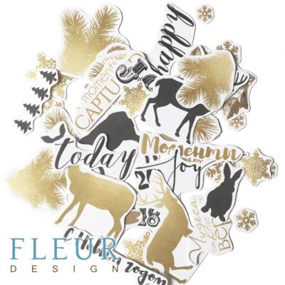 """Набор высечек, коллекция """"Волшебный лес"""" (Fleur design)"""
