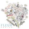 """Набор высечек, коллекция """"Моя школа"""" (Fleur design)"""