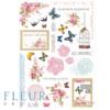 """Лист для вырезания коллекция """"Летний сад""""  (Fleur design), А4"""