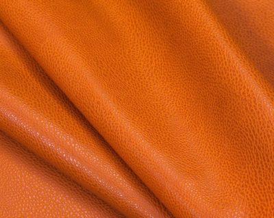 """Кожзам с тиснением """"Под кожу"""", оранжевый, 25*35 см"""