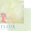 """Лист бумаги """"Дождивый день"""", коллекция """"Мой сад"""" (Fleur design), 30х30 см"""