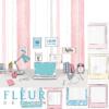 "Лист бумаги ""Творчество"", коллекция ""Твори"" (Fleur design), 30х30 см"