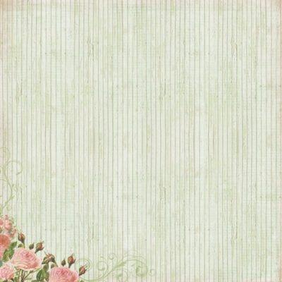 """Лист бумаги """"Лазурный берег"""", коллекция """"Французское Путешествие"""" (ScrapBerry's), 30х30 см"""