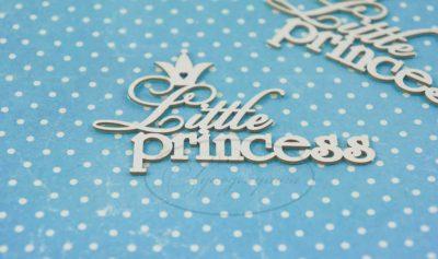 """Чипборд """"Маленькая принцесса (eng) 2"""", 2 шт."""