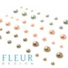 Набор полужемчужин коллекция Цветущая Весна, 3 оттенка, 54 шт (Fleur design)