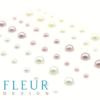 Набор полужемчужин коллекция Свадебная, 3 оттенка, 54 шт (Fleur design)