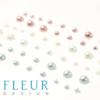 Набор полужемчужин коллекция Весенняя, 3 оттенка, 54 шт (Fleur design)