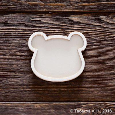 """Заготовка для шейкера """"Мишка"""" (Арт Лайн), 6,5х5,6 см"""
