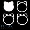 """Заготовка для шейкера """"Котёнок"""" (Fleur design), 6,3х7,3 см"""