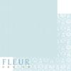 """Лист бумаги """"Утренний Аквамарин"""", коллекция """"Шебби Шик Базовая 2.0"""", 30х30 см (Fleur design)"""