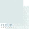 """Лист бумаги """"Морской Зеленый"""", коллекция """"Шебби Шик Базовая 2.0"""", 30х30 см (Fleur design)"""