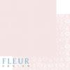 """Лист бумаги """"Ванильно Розовый"""", коллекция """"Шебби Шик Базовая 2.0"""", 30х30 см (Fleur design)"""