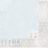 """Лист бумаги """"Пузыри"""", коллекция """"Нежный возраст"""", 30х30 см (Fleur design)"""