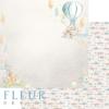 """Лист бумаги """"Чудеса"""", коллекция """"Нежный возраст"""", 30х30 см (Fleur design)"""