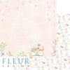 """Лист бумаги """"Я расту"""", коллекция """"Нежный возраст"""", 30х30 см (Fleur design)"""