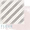 """Лист бумаги """"Горячее какао"""", коллекция """"Сладкие праздники"""", 30х30 см (Fleur design)"""