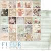 """Лист бумаги """"Время волшебства"""", коллекция """"Сладкие праздники"""", 30х30 см (Fleur design)"""