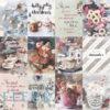 """Набор карточек """"Сладкие праздники"""" (Fleur design), 7,5х10 см, 12 шт"""