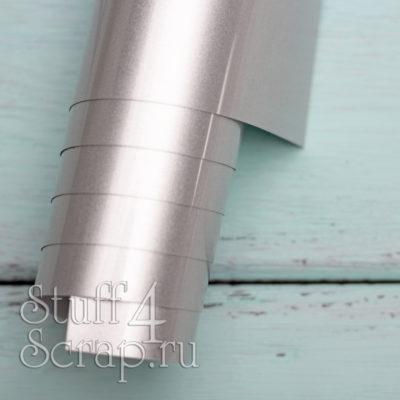 Термотрансферная пленка матовая, серебро, 25х25 см