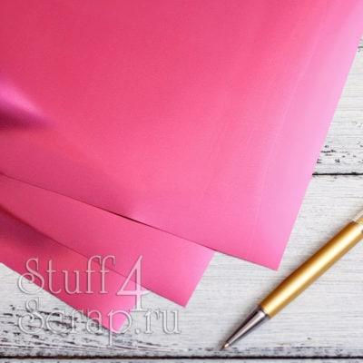 Термотрансферная пленка Metallic, зеркальное розовое, 25х25 см