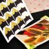 Уголки для фото, золотой, 24 шт